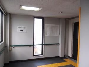 本会議傍聴席への行き方・階段を利用される場合5